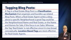 Tagging Blog Posts - SEO Short Definition for Real Estate
