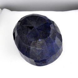 Oval Cut Blue Sapphire Gemstone