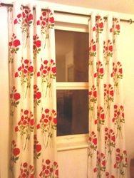 Brocade Eyelet Curtains