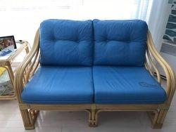 Tissus peint Greek Blue