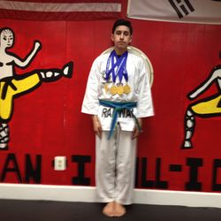 03/08/2015  NJ State TKD Championship   Joshua Arellano  1st Place Forms  1st Place Breaking  1st Place Sparring