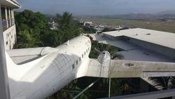 low flight in PNG :)