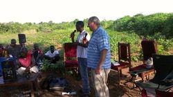Craig & Dalitso preaching