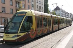 The SHADOK tram.