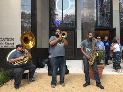 Jazz Send off at Washington Hebrew Congregation