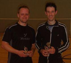 Handicap Tournament Mens Singles Runner Up & Winner