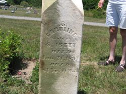 Caronline (Beamer) Isett (1809-1894)
