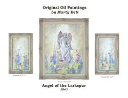 Angel of the Larkspur and Panels