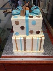 Gift Box Baby Cake