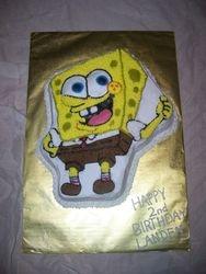 Sponge Bob Square Pants Cake