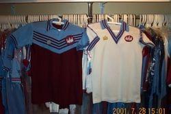 1976/80  Admiral, classic West Ham shirt designs