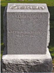 William H. Fisher & Daughter Mattie M. Fisher