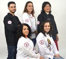 Um projecto a 5, Cristiano Louro, Filipa, Cristina Mendes, Carla Mata, Silvia Batista