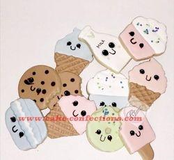 Kawaii Themed Cookies