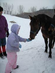 Kayla with Gracie 12/31/09