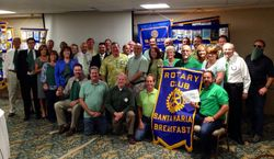 Ted and the Rotary Club