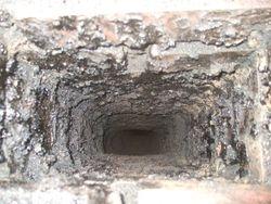 unlined brick chimney 3
