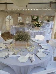 all white themed wedding