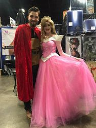 Prince Phillip and Sleeping Beauty