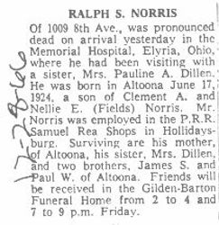 Norris, Ralph 1966