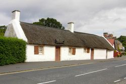 Burns Cottage - Burns Born 25th January, 1759