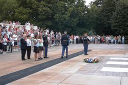 Wreath Laying at the Tomb of the Unknown soldiers