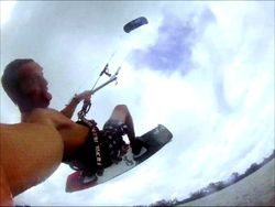 Kiteboarding in Tampa Bay by Sunshine Skyway
