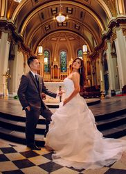 Viet and Lynn - St. James Cathedral