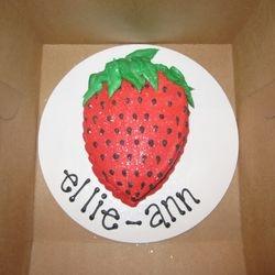 Strawberry Smash Cake