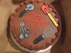 Kitchen Utensil Cake