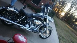 Side view 2012 Road King