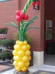 Pineapple & Tomato Balloon Sculpture