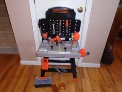 Black And Decker Junior Power Tool Workshop Workbench - $35