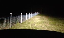 Hinged Joint boundary fence