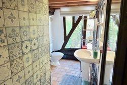 Salle de bains et WC du gîte