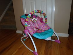 Disney Baby Minnie Mouse Peekaboo Infant To Toddler Rocker - $25