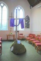 The Prayer corner at Easter