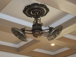 9 Panel Ceiling and Designer Gyro-Fan