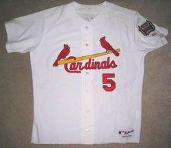 Albert Pujols 2006 Game Used Home Jersey