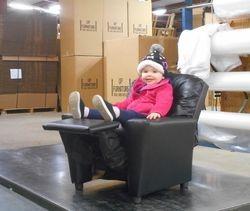 Jaelyn's 1st modeling job
