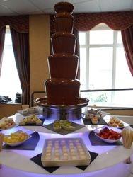 Lage 5 tier Sephra chocolate fountain