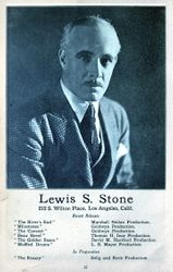 LEWIS S STONE