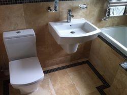 'Roca Hall' sanitary ware.