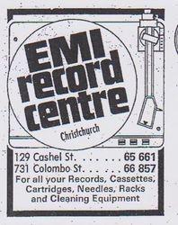 EMI Record Centre Christchurch