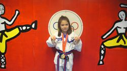 04/03/2011 Championship Frida Acosta 1st place forms 2nd place breaking 2 nd place fighting
