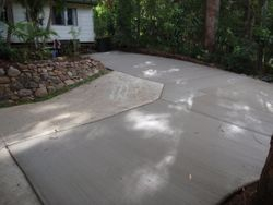 New Driveway adding to existing Concrete