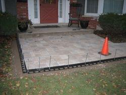 Stoop Patio & Sidewalk Completed