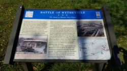 Battle of Wytheville - The Road to Mount Airy Depot