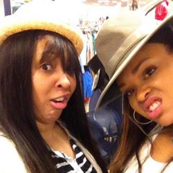 JamPoet & Demetria McKinney Out Shopping! Lol