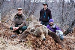 Kodiak brown bear taken by Michelle Arcand.